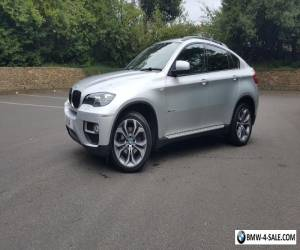 BMW X6 30D Xdrive,December 2013,'63,titanium silver, 38000 miles,black leather for Sale