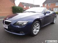 2007 BMW 6 SERIES 3.0 630i AUTO 2DR STUNNING CONVERTIBLE AUTO TOP SPEC LOOK!!