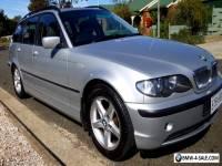 2002 BMW 320i E46 5dr estate wagon - 5 sp auto 2.2l  - 183,000km