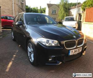 2014 BMW 520.D FACELIFT F11 M SPORT TOURING AUTO 5 DR.ESTATE18200 MIL SAT NAV for Sale