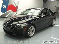 2016 BMW 2-Series 228I COUPE M-SPORT TURBOCHARGED SUNROOF