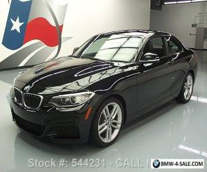 2016 BMW 2-Series 228I COUPE M-SPORT TURBOCHARGED SUNROOF for Sale