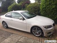 BMW 320D M SPORT  ALPINE WHITE COUPE