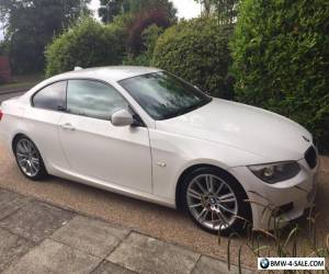 BMW 320D M SPORT  ALPINE WHITE COUPE for Sale