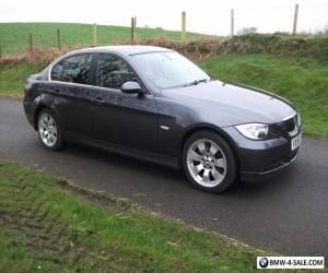 BMW 325D 3.0 DIESEL SAT NAV & LEATHER 6-SPEED MANUAL ONLY 93K for Sale