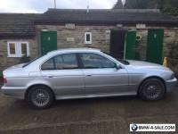 BMW 5 series 520i silver