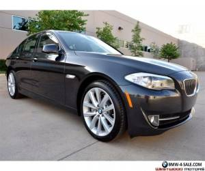 2012 BMW 5-Series 535i Only 3k Miles Sport Premium Navigation HS Cam for Sale