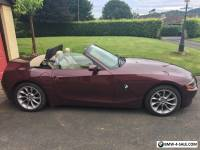 BMW Z4 2.2l 2004 MERLOT RED, LOW MILEAGE