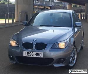 2006 BMW 5 Series 520d M Sport 4dr MET GREY&FULL BLACK M SPORT 110K&FSH 4395 ONO for Sale