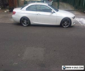 BMW 320i Sport Plus Convertible Rare Pearlescent White Paint FBMWSH 47K for Sale