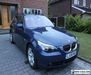 BMW 530D SE Auto Tourer 2007: Dakota Beige Leather Interior 2 owners from new for Sale
