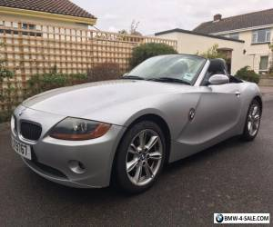 BMW Z4 Roadster SE 2.5i Convertible 2005 Manual Petrol 42000 Miles - Silver for Sale