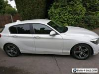 2012 12 BMW F20 1 SERIES  116d SPORT DIESEL WHITE FULL BMW History Alloys 2 Keys