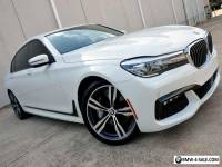 2016 BMW 7-Series 740i M Sport DAP Plus DAP II 20-inch Wheels