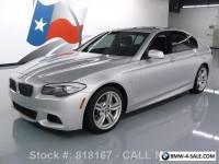 2013 BMW 5-Series 535I M SPORT HTD SEATS SUNROOF NAVIGATION