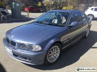 2002 BMW 325ci Steel Blue