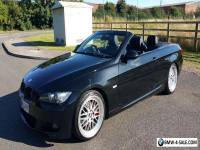 BMW 320i Coupe Convertible Sports Black Leather
