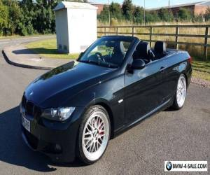 BMW 320i Coupe Convertible Sports Black Leather for Sale