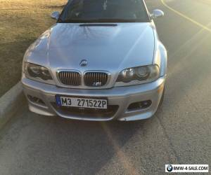 BMW: M3 CONVERTIBLE for Sale