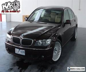 2005 BMW 7 Series 40i E65 6 Speed Automatic Sedan May Suit 3 & 5 Buyers - KLR for Sale