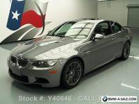 2008 BMW M3 COUPE 6-SPEED SUNROOF NAV HTD SEATS