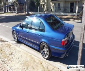 BMW E39 M5 2002 Series 2 Le Mans Blue for Sale