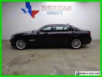 2015 BMW 7-Series 750Li Twin Turbo V8 Heat Cool Seats Camera Sunroof