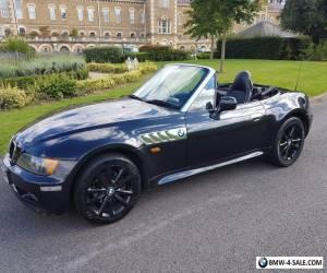 BMW Z3 1.9 WIDEBODY  BLACK METALLIC BLACK LEATHER 5 SPEED MANUAL V REG FACELIFT for Sale