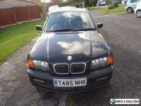 BMW 323i  4 DOOR SALOON AUTO BLACK