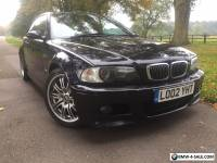 BMW M3 2002 Manual 182000 Miles 2 Previous Owner Black with Black Leather HPI Cl