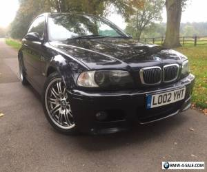 BMW M3 2002 Manual 182000 Miles 2 Previous Owner Black with Black Leather HPI Cl for Sale
