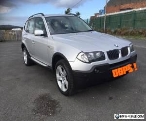 BMW X3 2.0D SE turbo diesel E83 TDI for Sale