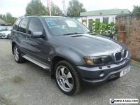 2001 BMW X5 3.0 SPORT GREY MANUAL GEARBOX
