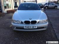 2003 BMW 520 2.2i ES SE SILVER EXCELLENT CONDITION MOT DEC.NICE CAR.