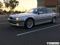 2001 BMW 7-Series 740i M-sport