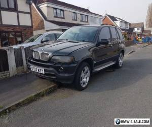 bmw x5 spare or repair/ export for Sale