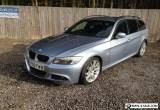 "2009 09 BMW 320 M SPORT TOURING LCI E91 BLUEWATER METALLIC 18"" MV3 ALLOYS for Sale"