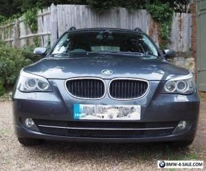 2008 BMW 520D SE Touring Estate 39K on New 2012 Engine FSH Grey VGC Not M Sport for Sale