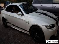 Individual BMW M3 V8 DCT 7 Cabriolet-Must Be Seen-Possible left hand drive in px