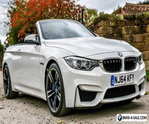 Bmw m4 convertible white 2015 for Sale