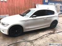BMW 118d 2008 White