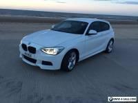 BMW 120D M SPORT AUTO WHITE 2013 63 REG 3DR