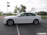2016 BMW 5-Series M sport premium package