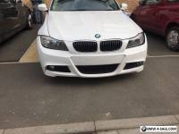 Bmw 320d efficient Dynamics 2011 repairable damaged  salvage