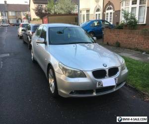 BMW 530d se auto silver 2003 for Sale