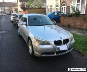 BMW 530d se auto silver 2003 for Sale