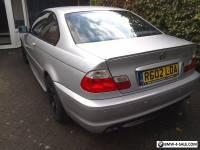 BMW 325 CI SPORT AUTOMATIC 2002 PETROL SILVER 114,606 Miles