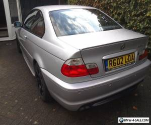 BMW 325 CI SPORT AUTOMATIC 2002 PETROL SILVER 114,606 Miles for Sale