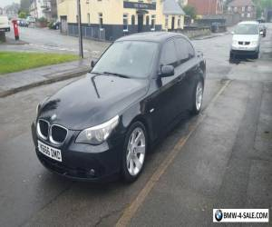 """~ ~ BMW 530i SE 2004 with Private Plate ~ ~ LEATHER 18"""" WHEELS SAT NAV for Sale"""