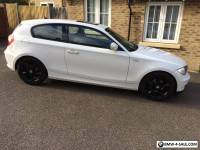 *Mint Condition *low mileage 60plate (2010) 3door  BMW 116D Sport white E81